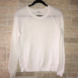 Old Navy Thermal Style Long Sleeve Sweater